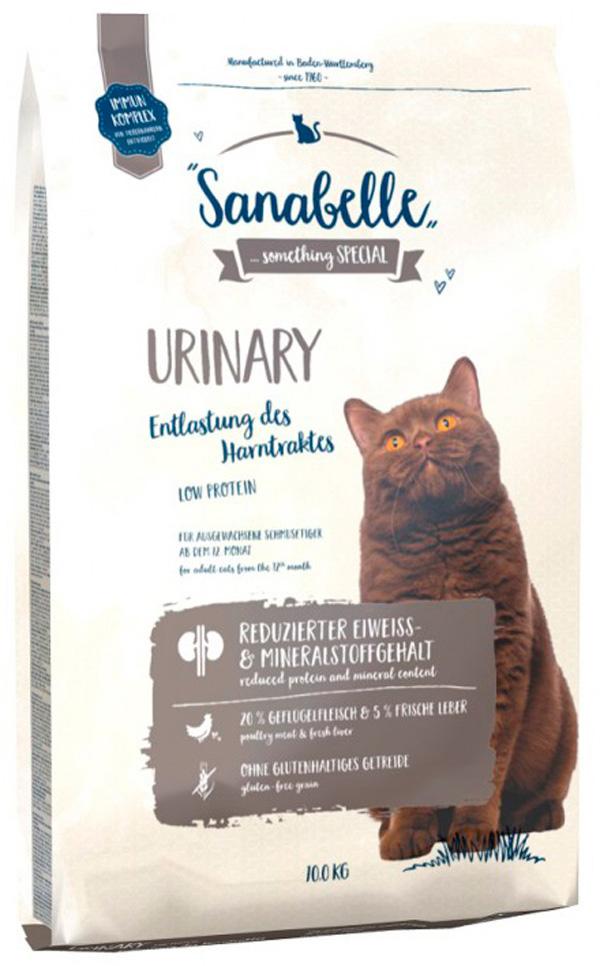 Bosch Sanabelle Urinary для взрослых кошек при мочекаменной болезни (10 кг)