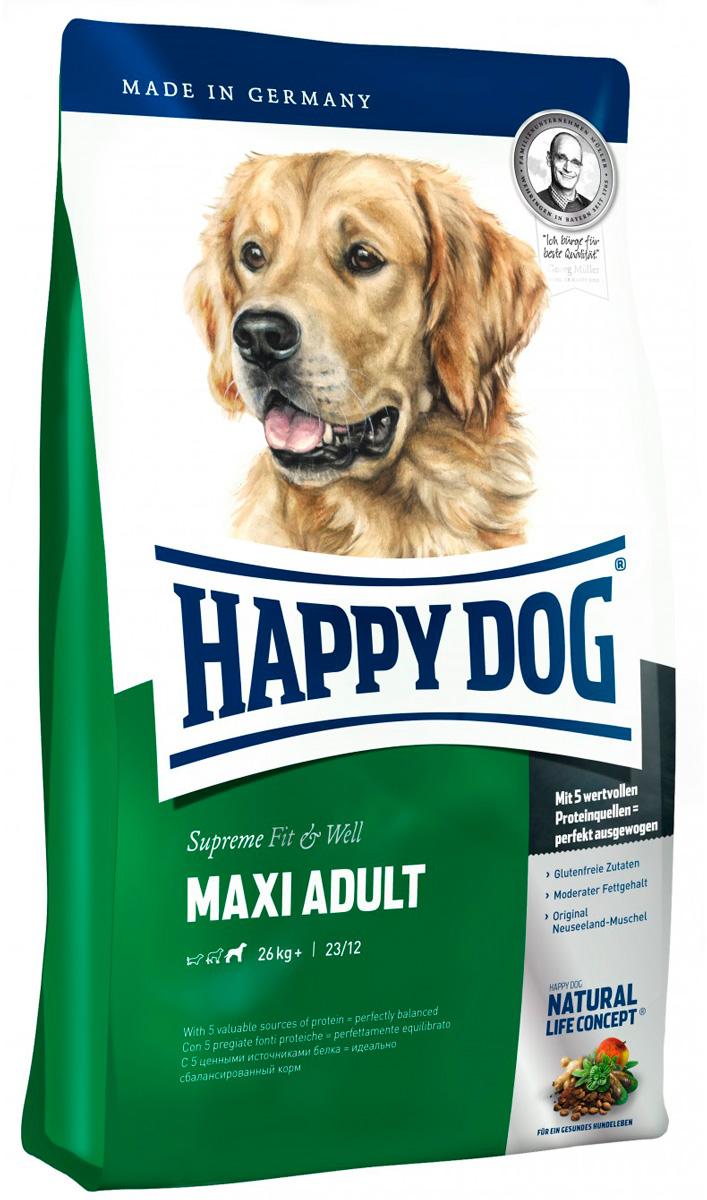 Happy Dog Supreme Fit & Well Adult Maxi для взрослых собак крупных пород (15 + 15 кг)