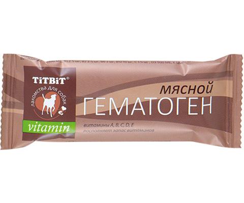 Лакомство Tit Bit Vitamin для собак гематоген мясной (1 шт)