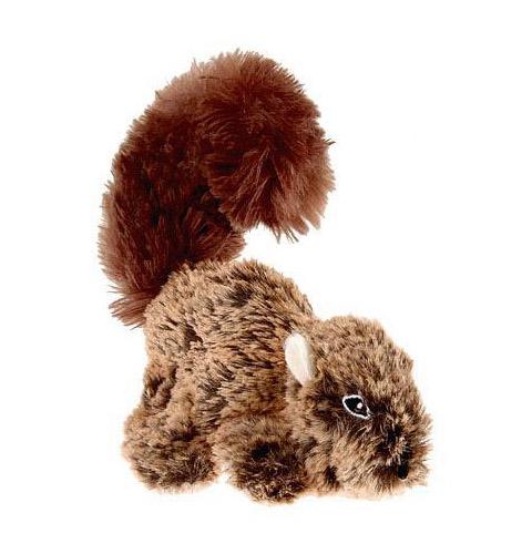 Игрушка для собак Белка с пищалкой особо прочная 16 см GiGwi (1 шт)