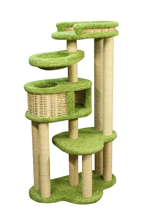 Комплекс Басик+ Пушок ковролин бежевый с зеленым (1 шт) фото