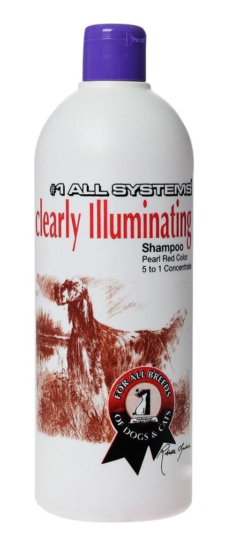 #1 All Systems Clearly Illuminating Shampoo шампунь суперочищающий для собак и кошек для блеска шерсти (250 мл)