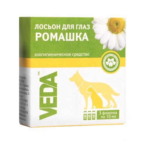 Фитоэлита лосьон для глаз для кошек и собак «Ромашка» Veda (10 мл)