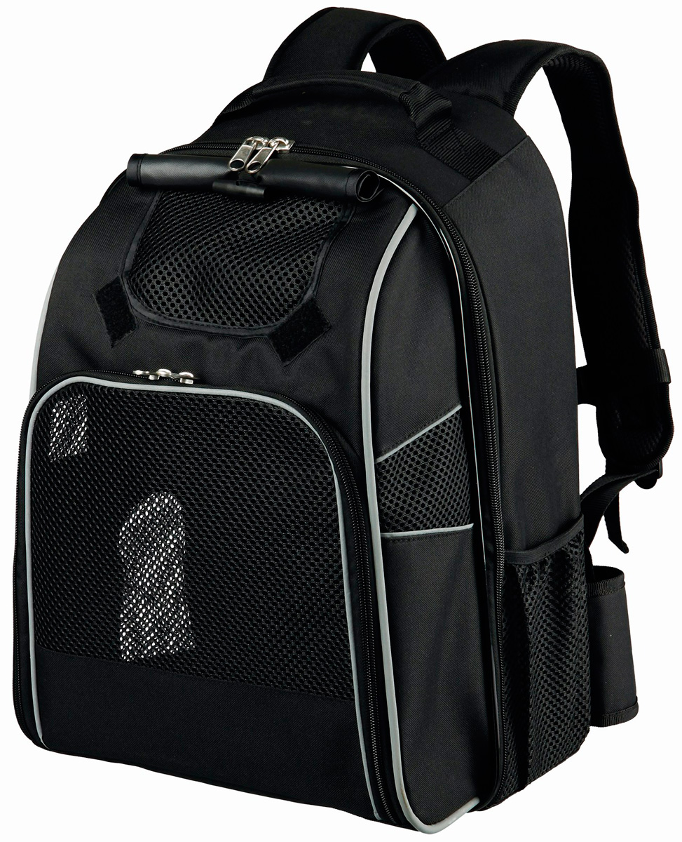 Рюкзак переноска Trixie William чёрный 33 x 43 x 23 см (1 шт)