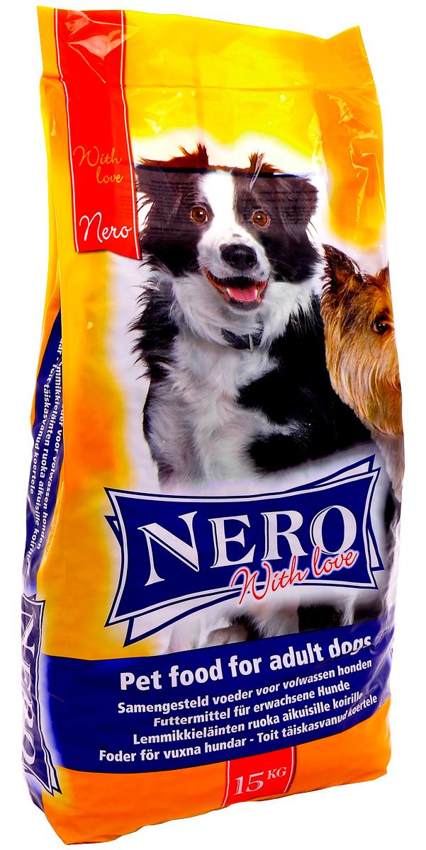 Nero Gold Dog Adult Croc Economy With Love для взрослых собак всех пород Мясной коктейль (15 кг)