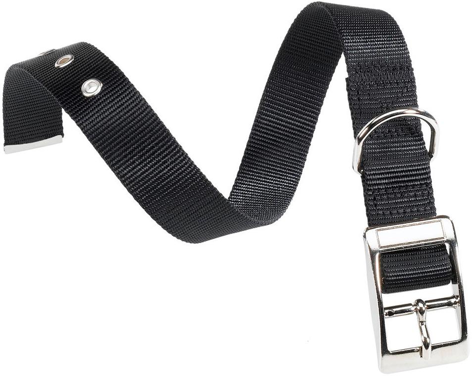 Ошейник нейлоновый для собак черный Ferplast Club Cf25/53 (1 шт) фото