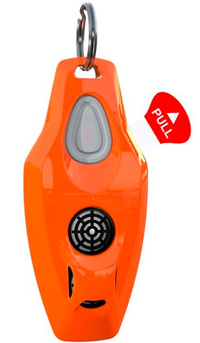 Картинка - Ультразвуковой отпугиватель клещей Zerobugs Plus оранжевый (1 шт)
