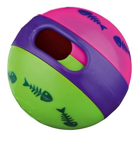 Trixie игрушка для кошек «Мяч для лакомств»,