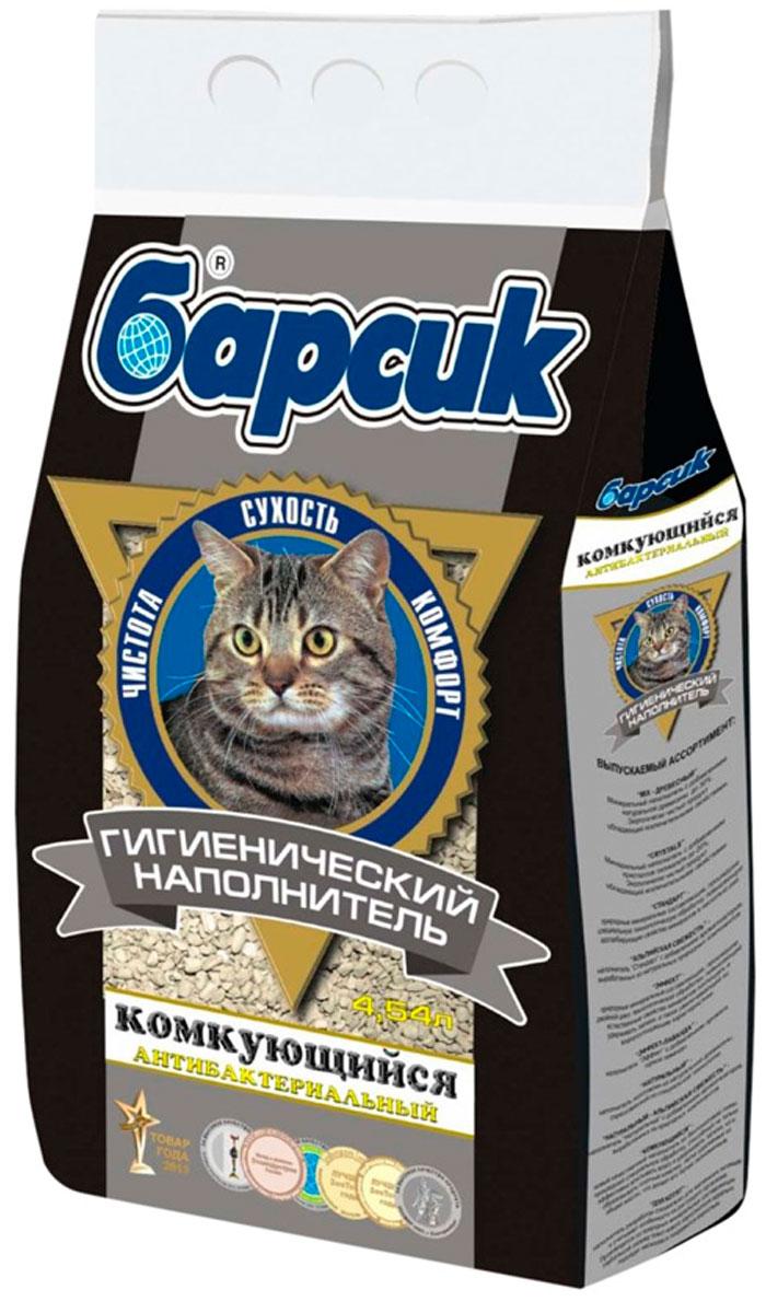 Фото - барсик комкующийся – наполнитель комкующийся для туалета кошек (4,54 л) комкующийся наполнитель