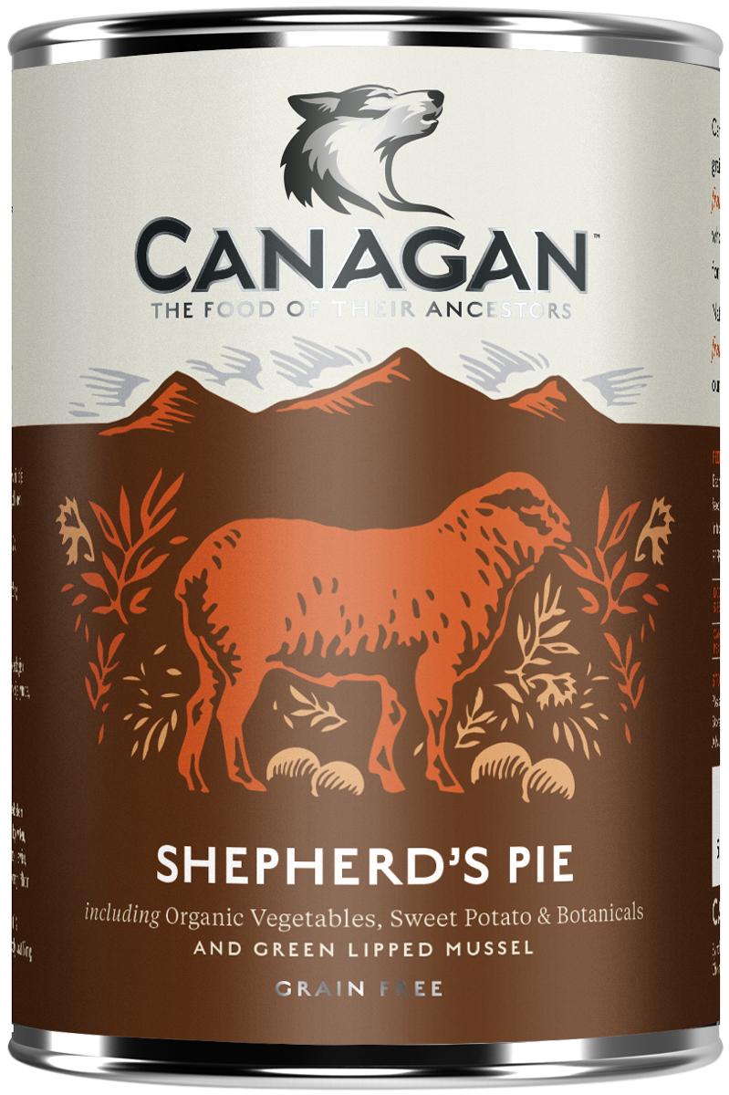 Canagan Grain Free Shepherd's Pie для взрослых собак с пастушьим пирогом 400 гр (400 гр)