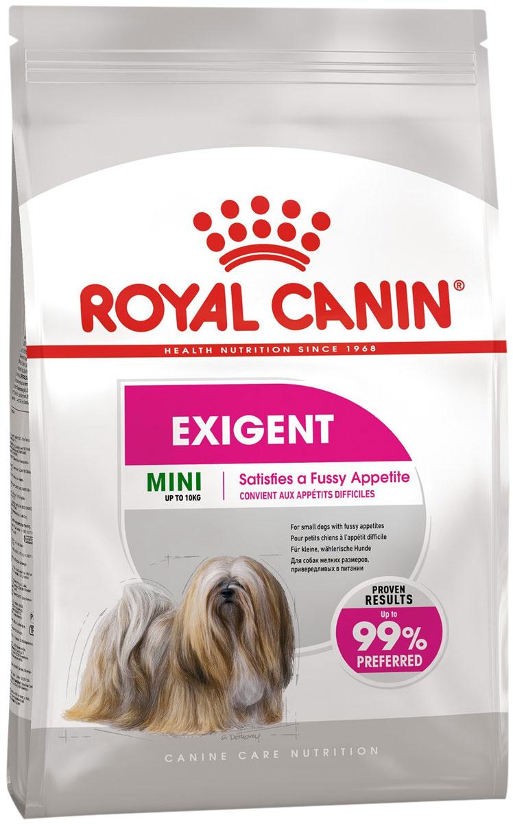 Royal Canin Mini Exigent для привередливых взрослых собак маленьких пород (1 кг)