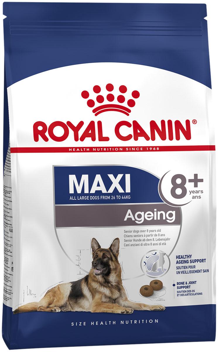 Royal Canin Maxi Ageing 8+ для пожилых собак крупных пород старше 8 лет (3 + 3 кг)