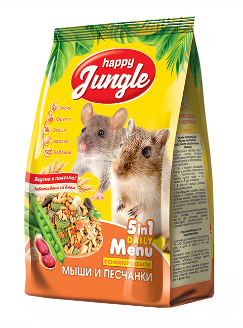 Happy Jungle для мышей и песчанок (400 гр) фото