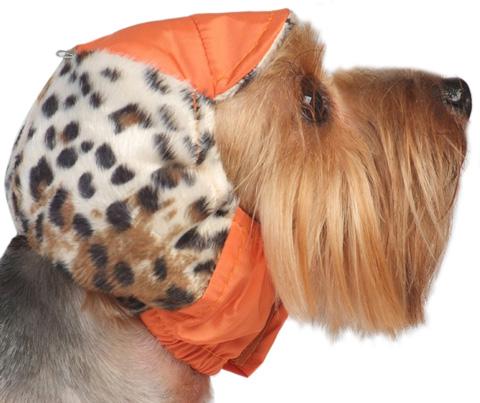 Тузик шапка для собак теплая с велюром 29 см № 1 (1 шт)