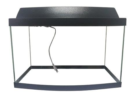 Картинка - Аквариум Вижен панорама 40 литров черный (1 шт)