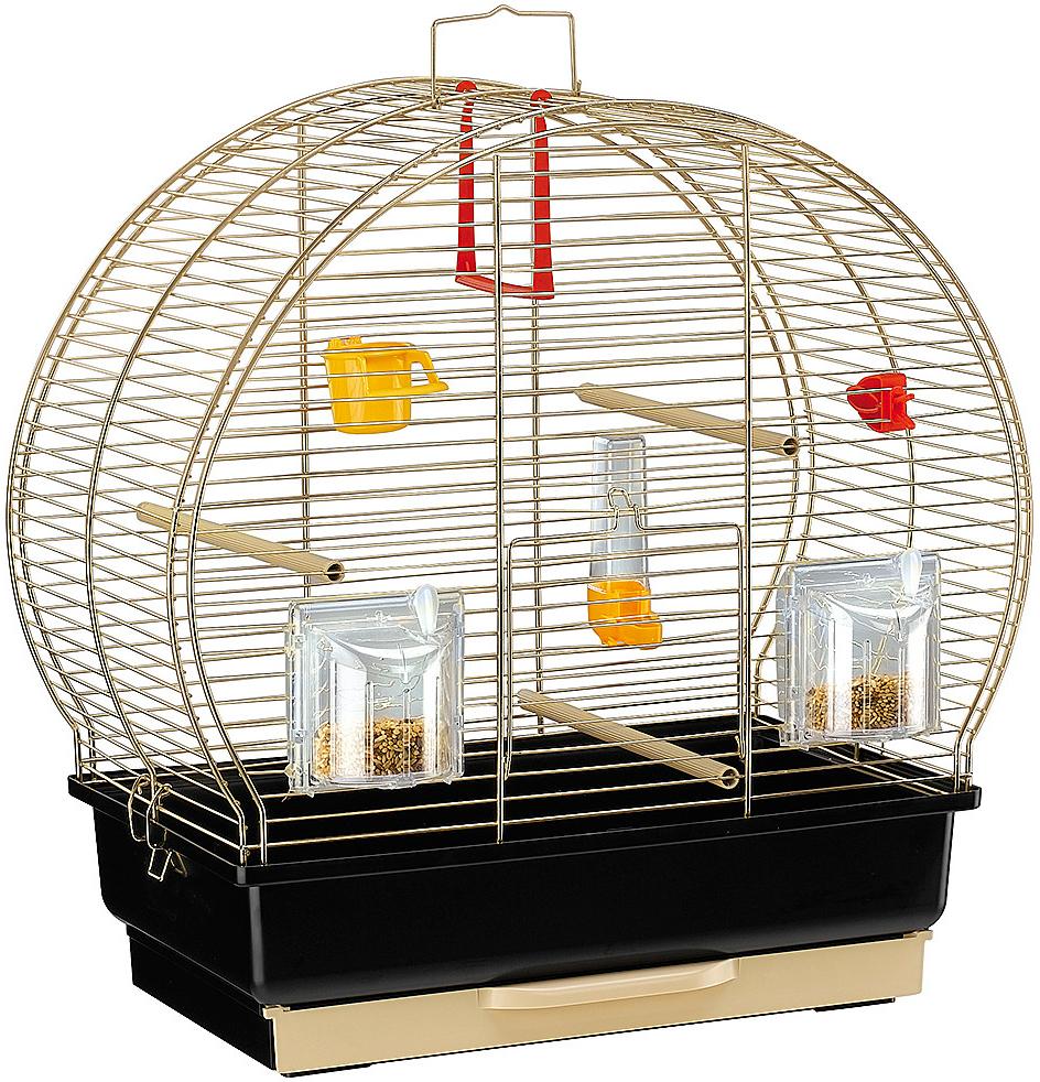 Клетка для птиц Ferplast Luna 2 Antique золотая 44,5 х 25 45,5 см (1 шт)