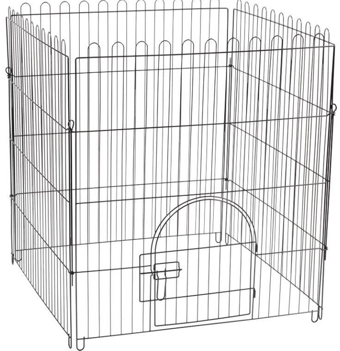 Клетка-вольер для животных Triol K2 4 секции эмаль 84 х 95 см (1 шт)