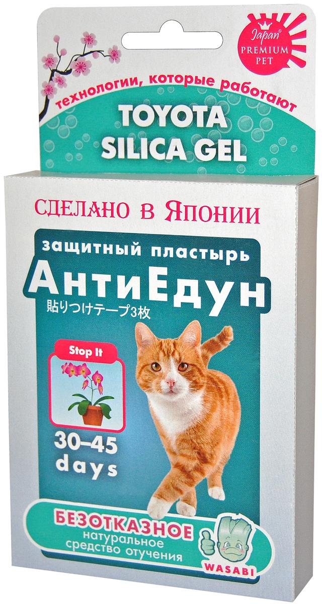 Защитный пластырь Premium Pet Japan АнтиЕдун для кошек (1 шт) фото