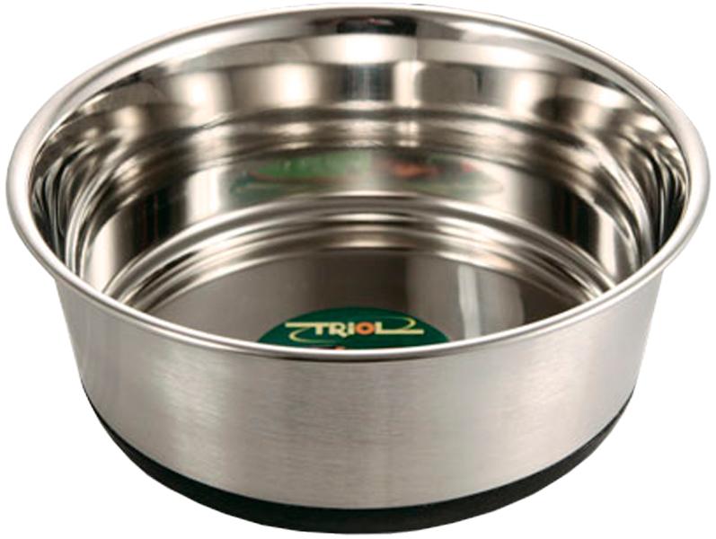 Triol миска металлическая на резинке 033 (0,34 л)