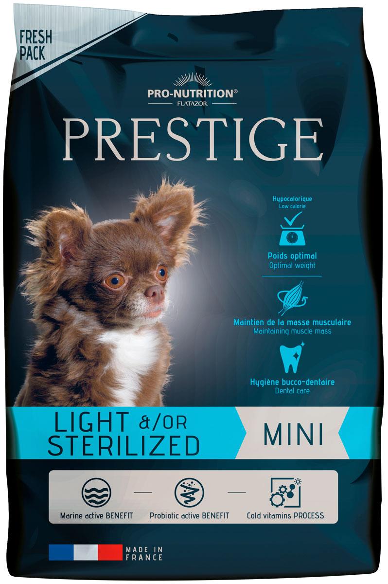 Flatazor Prestige Light/sterilised Mini диетический для взрослых кастрированных и стерилизованных собак маленьких пород (8 + 8 кг) фото
