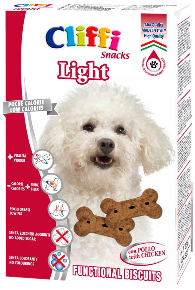 Лакомство Cliffi Light Контроль веса диетическое для взрослых собак маленьких пород 300 гр (1 шт)