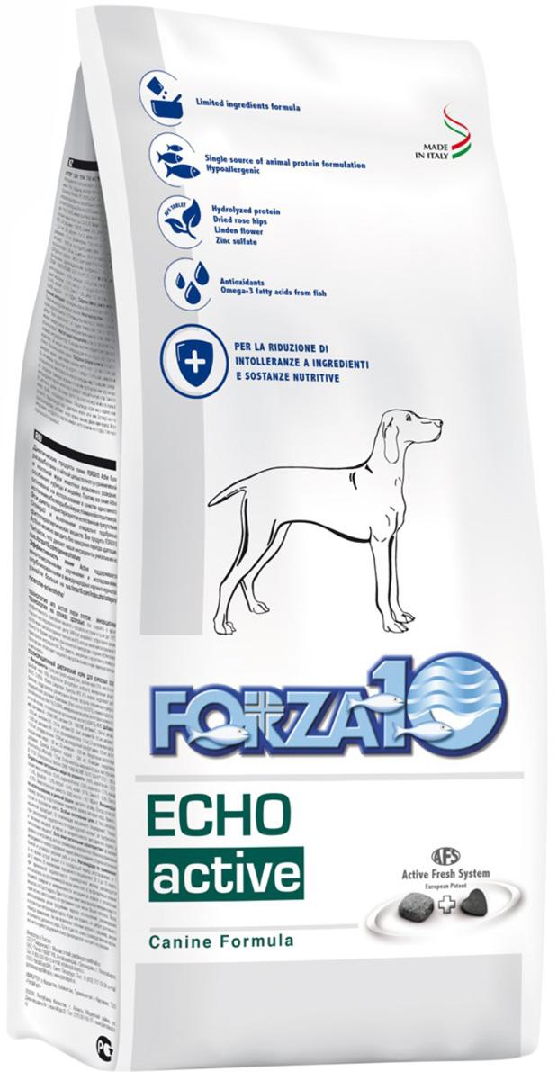 Forza10 Dog Oto Active для взрослых собак всех пород при заболеваниях слуховых органов (4 кг)
