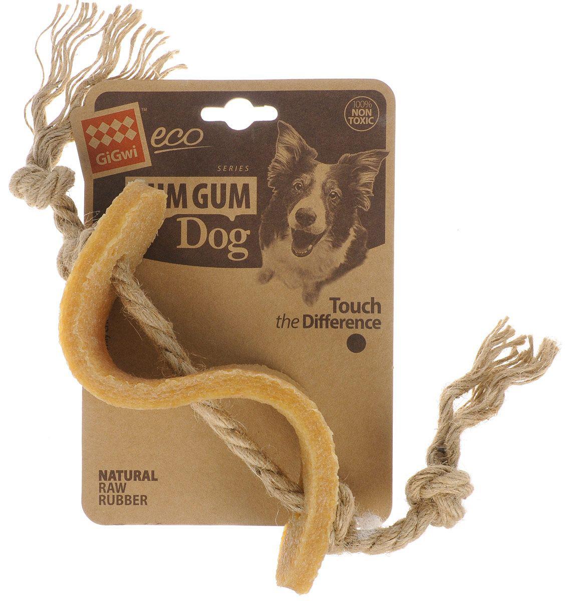 Игрушка для собак GiGwi Gum Gum Dog Доллар 13,5 см (1 шт)