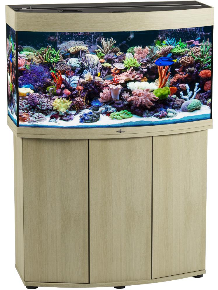 Аквариум и тумба Биодизайн Панорама 150 беленый дуб (Аквариум) кочетов сергей михайлович аквариум оформление и декорации