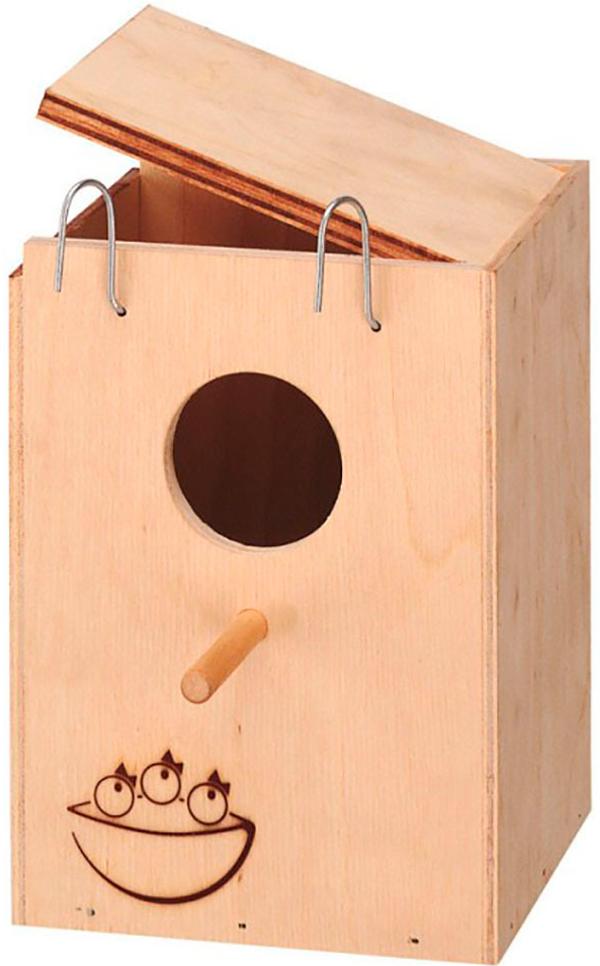 Фото - Домик-гнездо для птиц Ferplast Nido Small наружный 13 х 12 х 17 см (1 шт) домик гнездо ferplast nido mini