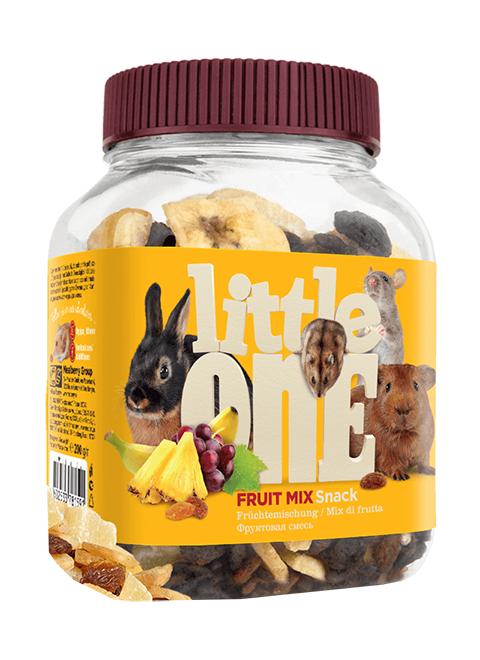 Little One Snack Fruit Mix лакомство для грызунов Фруктовая смесь (200 гр)
