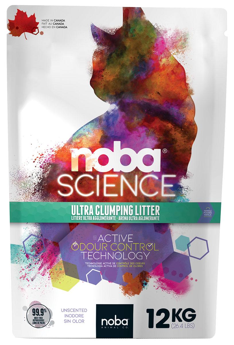 Фото - Canada Litter Noba Science наполнитель комкующийся для туалета кошек без запаха (12 кг) комкующийся наполнитель
