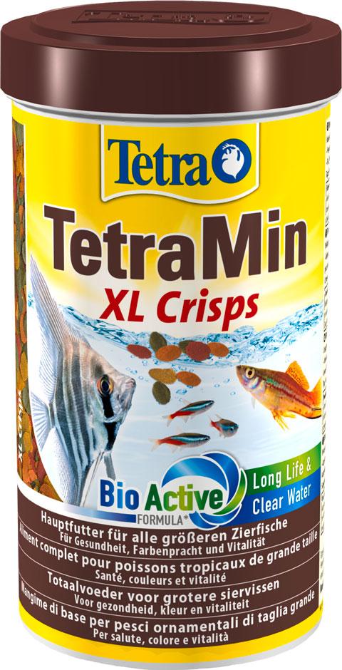 Tetramin Pro Xl Crisps — Тетра корм-чипсы для всех видов рыб крупные чипсы (500 мл) tetra корм tetra min pro crisps чипсы для всех видов рыб 500 мл