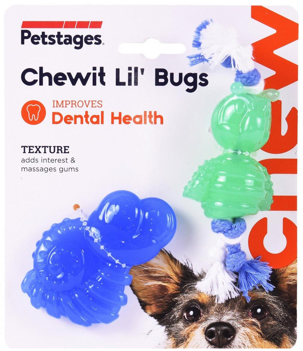Petstages игрушка для собак Mini орка жуки 15 см (уп. 2 шт) (1 уп)