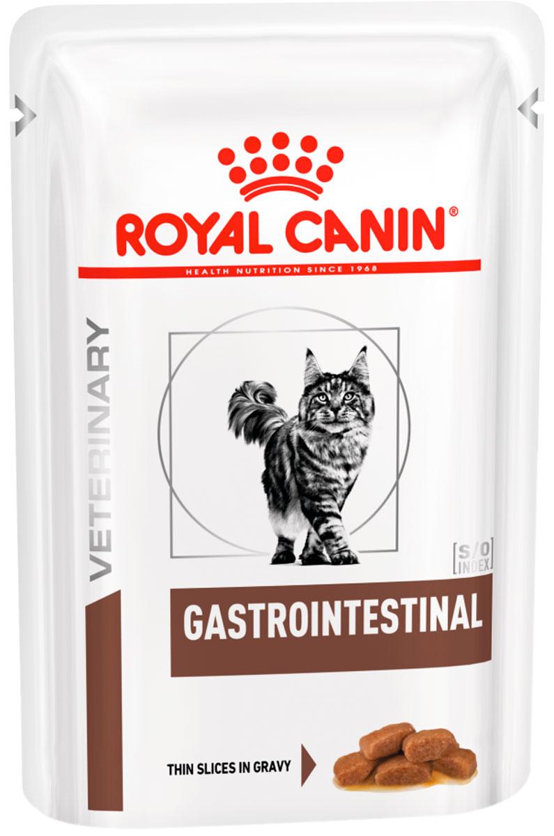 Royal Canin Gastrointestinal для взрослых кошек при заболевании желудочно-кишечного тракта 85 гр (85 гр)