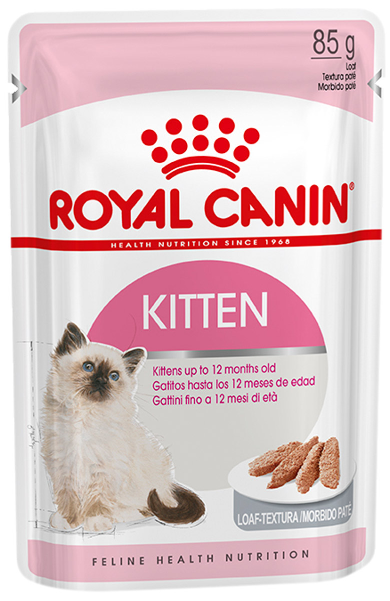 Royal Canin Kitten для котят паштет 85 гр (85 гр) cat wet food royal canin kitten sterilized kitches for kittens pieces in jelly 24 85 g