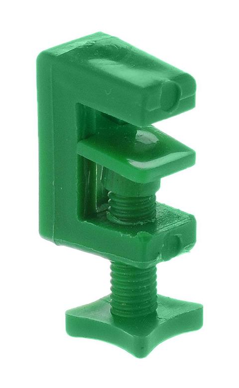 Зажим для трубки пластиковый 4 мм Barbus Accessory 078 (1 шт) трубка ly at 100 для компрессора в бабане 100 м barbus 4 мм accessory 113 1 шт