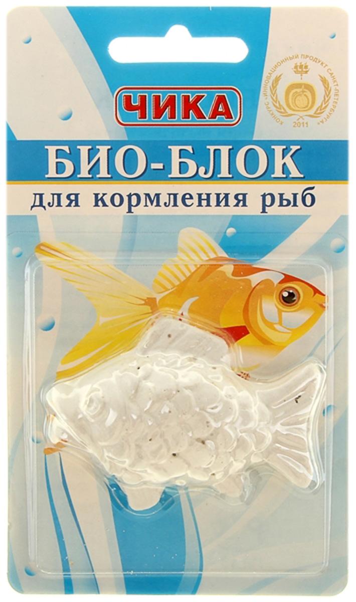 чика био-блок для кормления рыб (15 гр).