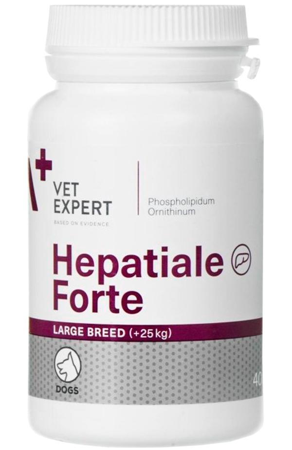 гепатиале форте гепатопротектор для собак крупных пород для поддержания и восстановления функции печени (уп. 40 таблеток) (40 таблеток)