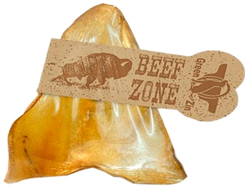 Лакомство Green Qzin Beef Zone для собак всех пород ухо говяжье сушеное большое (1 шт)