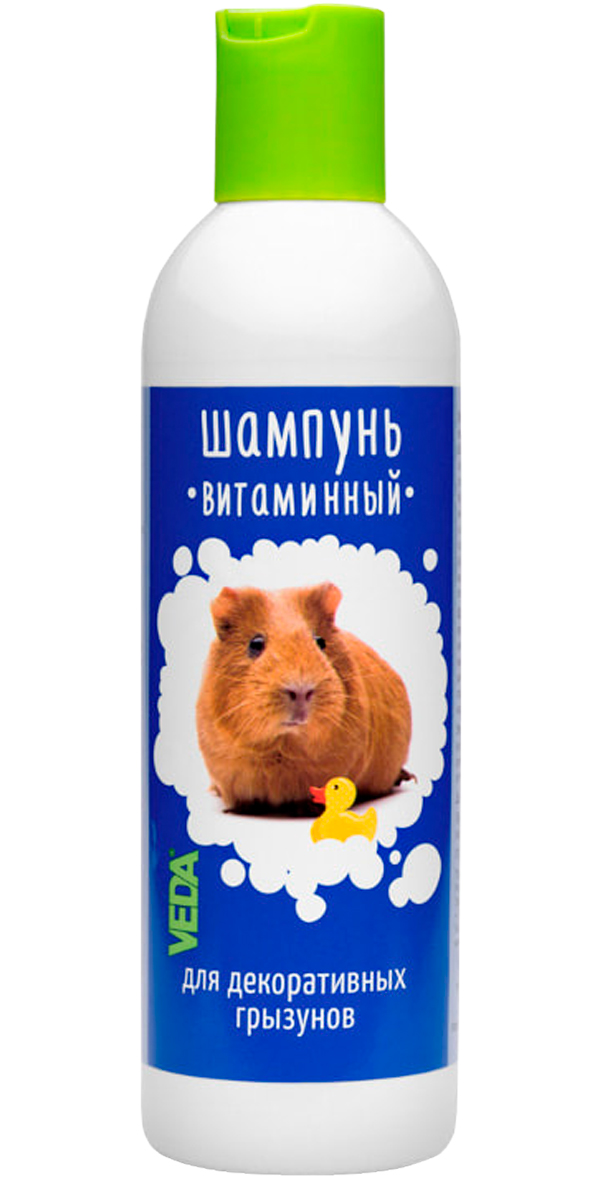 Veda шампунь Витаминный для грызунов (220 мл).
