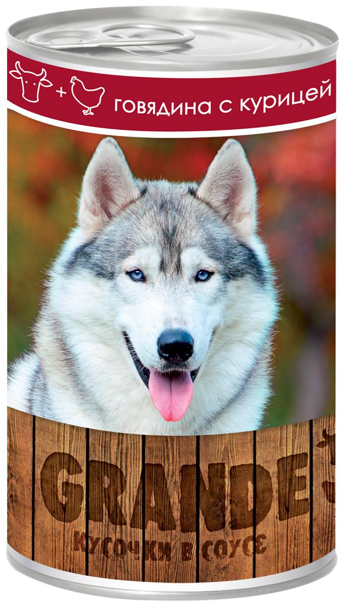 Vita Pro Grande для взрослых собак кусочки с говядиной и курицей 1250 гр (1250 гр)