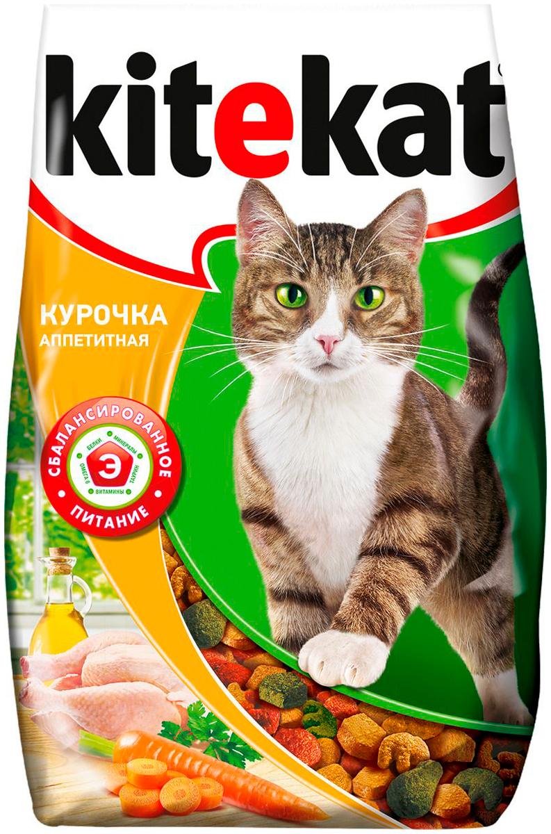 Kitekat аппетитная курочка для взрослых кошек (1,9 кг) фото
