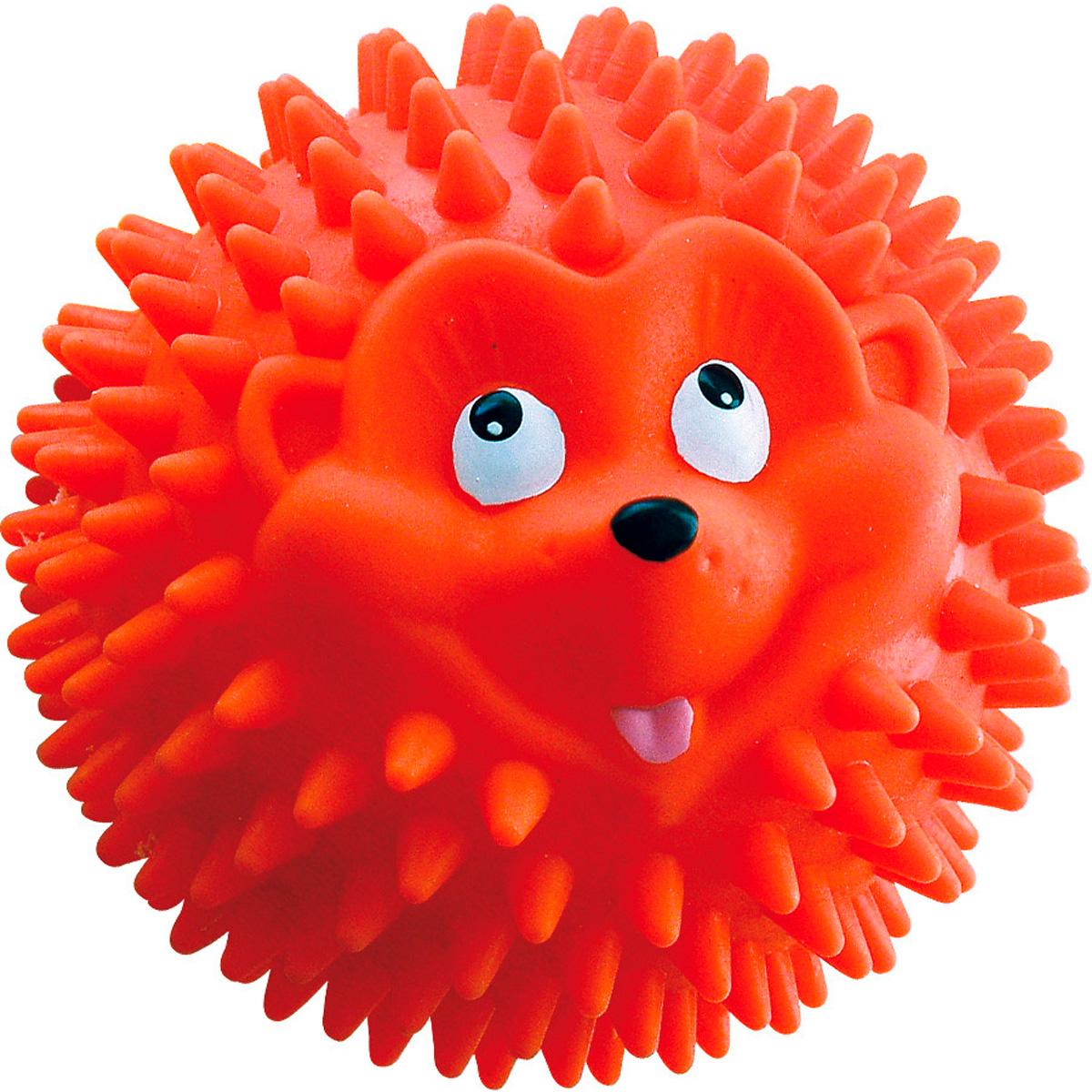 Игрушка для собак № 10 Зооник Мяч-ежик 11,5 см  (1 шт)