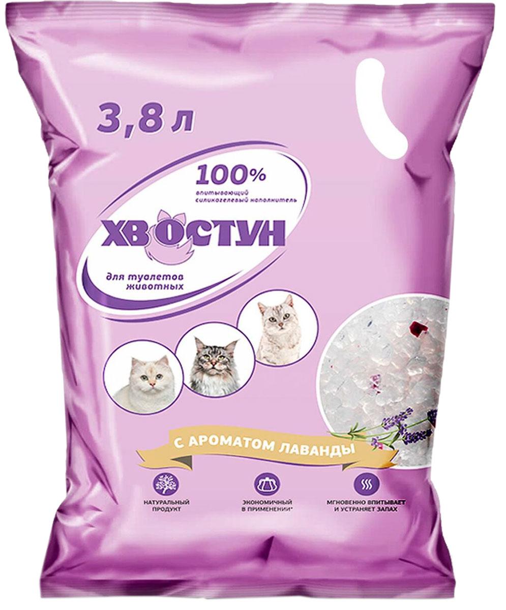 хвостун наполнитель силикагелевый для туалета кошек с ароматом лаванды (3,8 л) for cats наполнитель силикагелевый для туалета кошек с ароматом зеленого чая 8 л