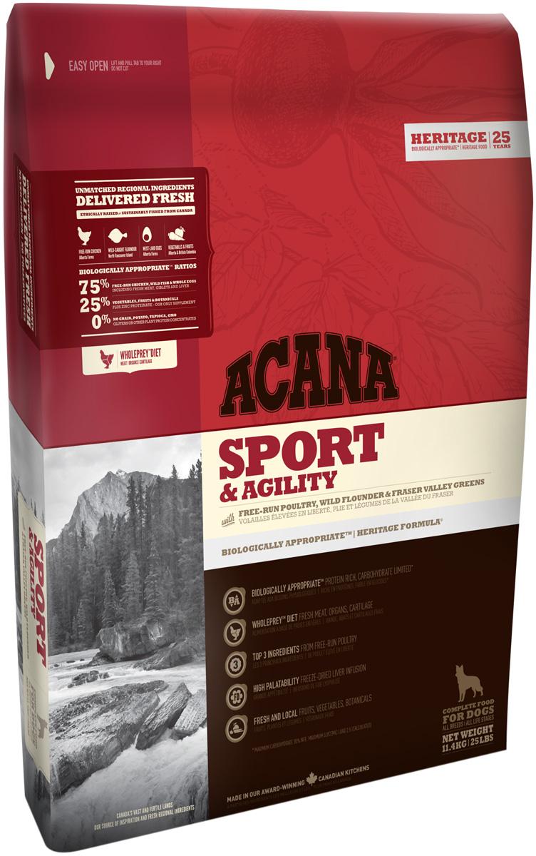 Acana Sport & Agility для активных собак и щенков всех пород (11,4 + 11,4 кг) фото