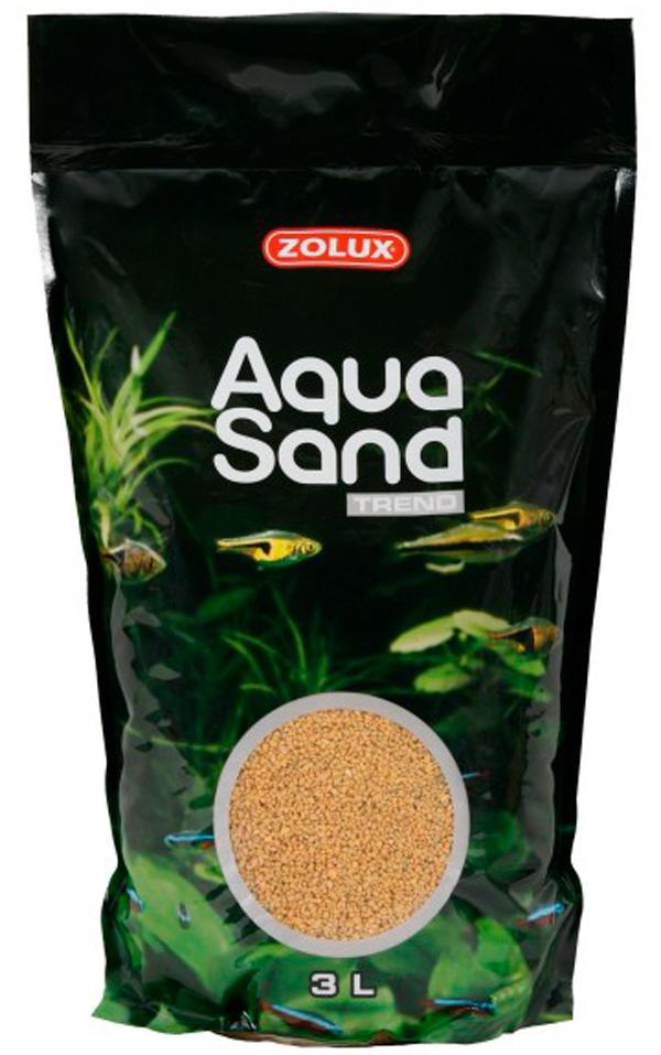 Грунт для аквариума Zolux Aquasand Yellow Cinnamon желтый корица (47 кг).