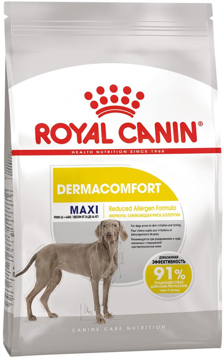 Royal Canin Maxi Dermacomfort для взрослых собак крупных пород при аллергии (10 кг)