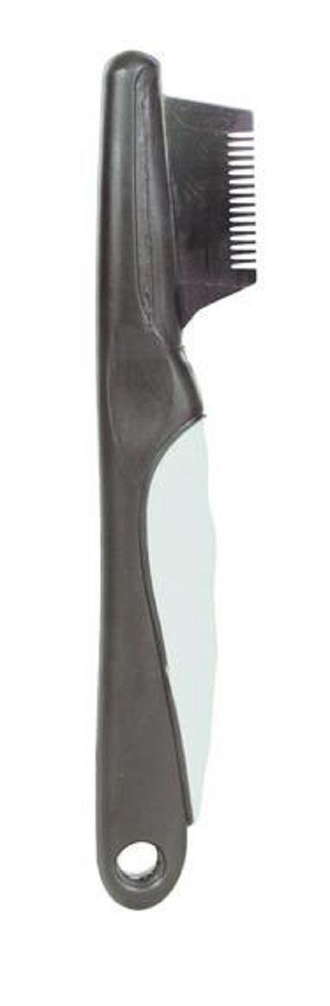 Trixie тримминг редкий с виниловой ручкой, 19 см (1 шт)