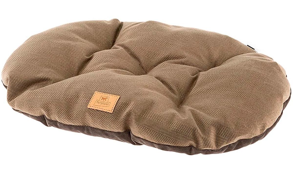 Подушка мягкая Ferplast Stuart 55/4 коричневая 55 х 36 см (1 шт)