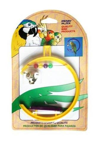 Penn-plax игрушка для птиц «Качели со счетами и колокольчиком» (1 шт) фото